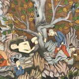 Indian School Painting of a Mogul's Camp - Detail View - 6