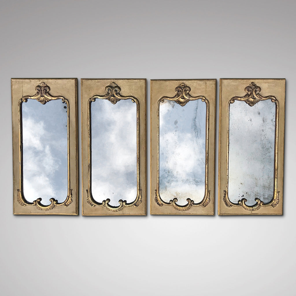 Set of Four 19th Century Italian Mirrors - Main View - 1