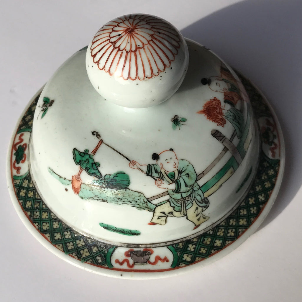 Late 18th/Early 19th Century Chinese Vase with Bud Finial-7