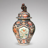 18th Century Imari Vase with Domed Cover - Main View - 1