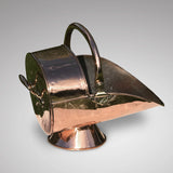 19th Century Copper Coal Scuttle - Main View - 1
