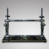 Victorian Japanned & Painted Embroidery Frame - Main View - 1