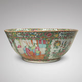Large 19th Century Cantonese Famille Rose Enamelled Bowl - Main View - 4