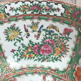 Large 19th Century Cantonese Famille Rose Enamelled Bowl - Detail View - 9