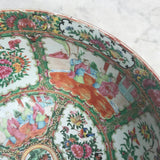 Large 19th Century Cantonese Famille Rose Enamelled Bowl - Detail View - 7