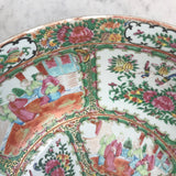Large 19th Century Cantonese Famille Rose Enamelled Bowl - Detail View - 6