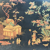 Large 19th Century Chinoiserie Folding Firescreen - Main Detail View - 5