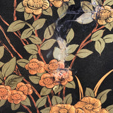Large 19th Century Chinoiserie Folding Firescreen - Detail View of Decoration - 8