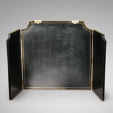 Large 19th Century Chinoiserie Folding Firescreen - Back View - 3