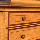 19th Century Painted Chest on Chest with Concave Top - Detail View - 3