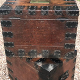 Two Victorian Oak Silver Chests by Elkington & Co - Back View - 9