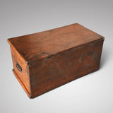 19th Century Elm Blanket Box - Back & Top View - 3
