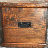 19th Century Elm Blanket Box - Side View - 4