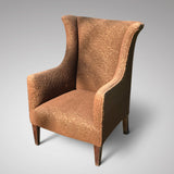Edwardian Winged Armchair for Reupholstering - Main View - 1