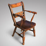 Late 18th Century Welsh Child's Elm & Ash Armchair - Main View - 1