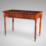 19th Century Metamorphic Library Table/Steps - View of Table Closed - 4