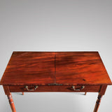 19th Century Metamorphic Library Table/Steps - View of Top - 5