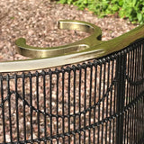 Regency Brass and Wire Work Fire Guard - Detail View - 4