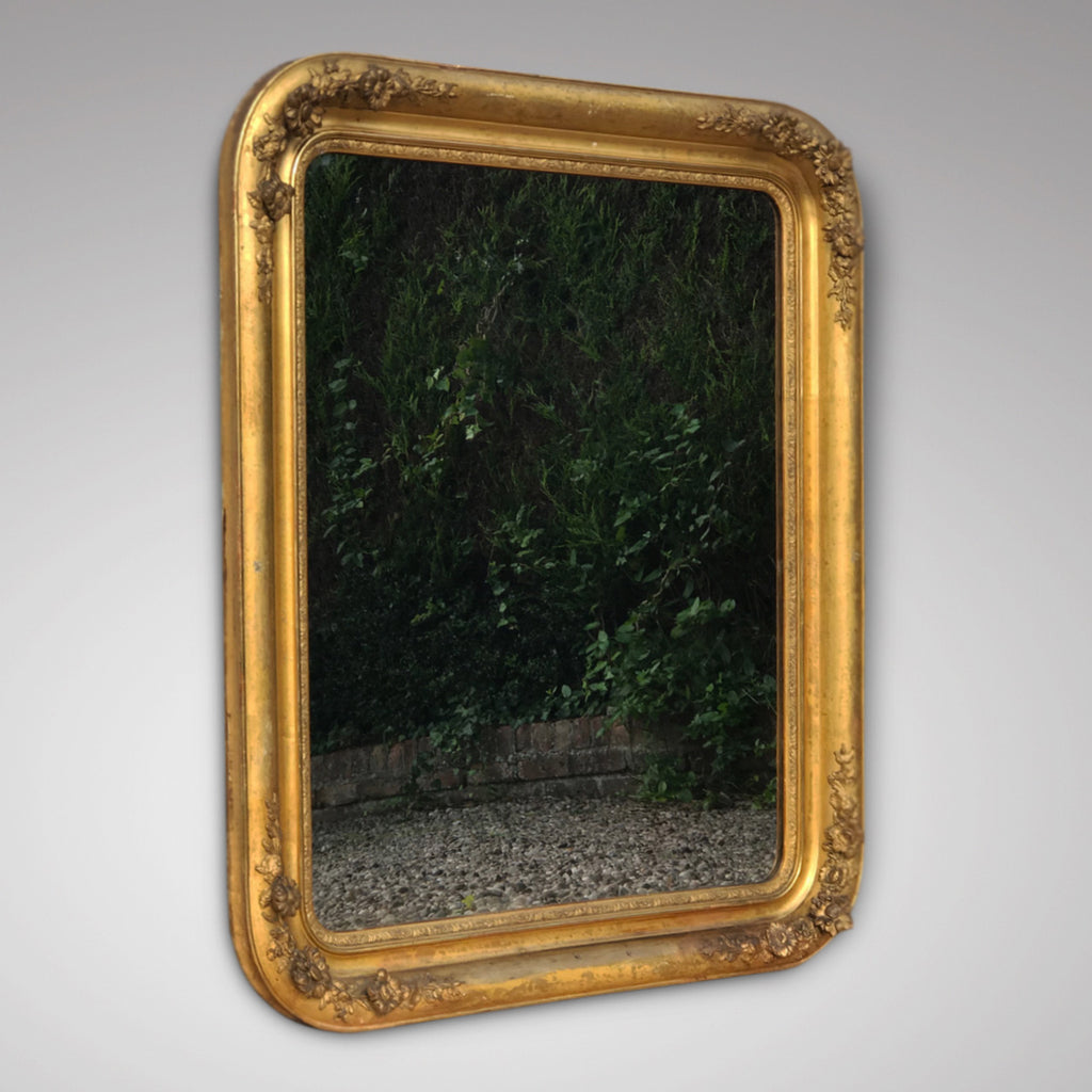 19th Century French Gilt Mirror - Main View - 2