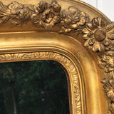 19th Century French Gilt Mirror - Detail View - 5