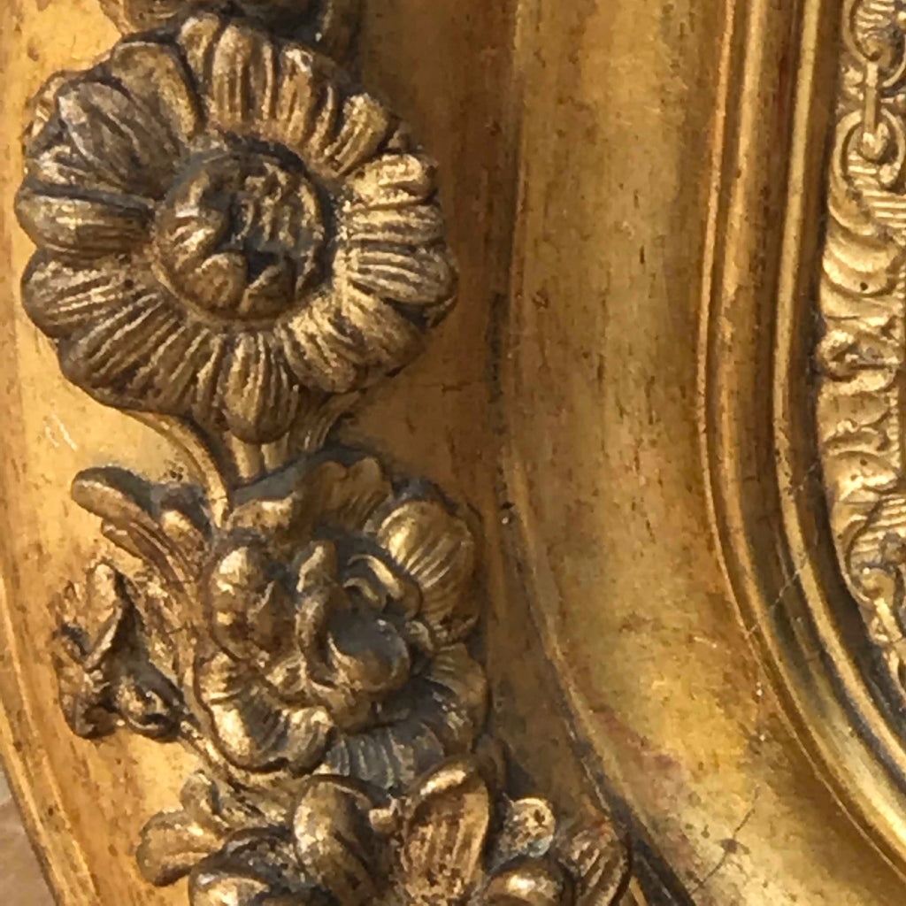 19th Century French Gilt Mirror - Detail View - 3