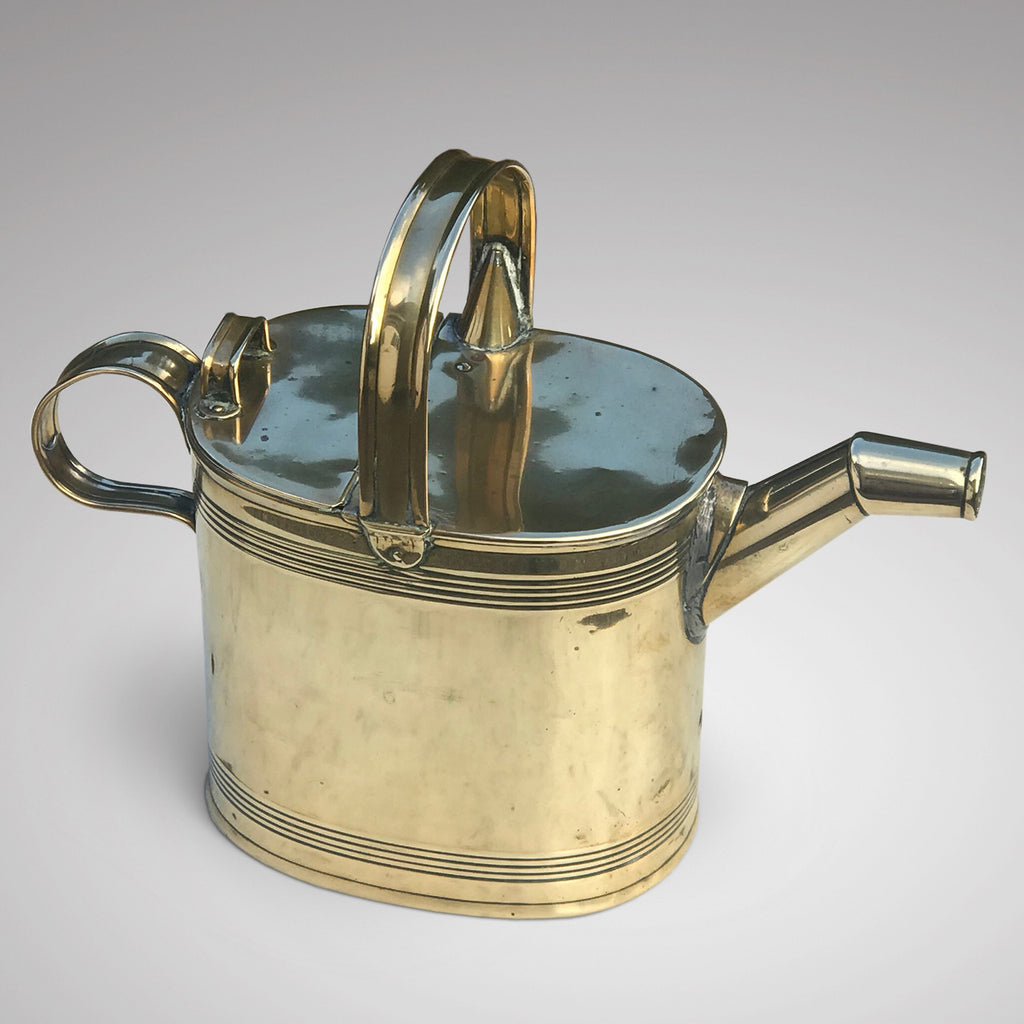 Victorian Brass Watering Can - Main View - 2