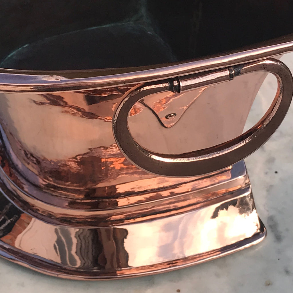 19th Century Copper Planter/Wine Cooler - Detail View - 3