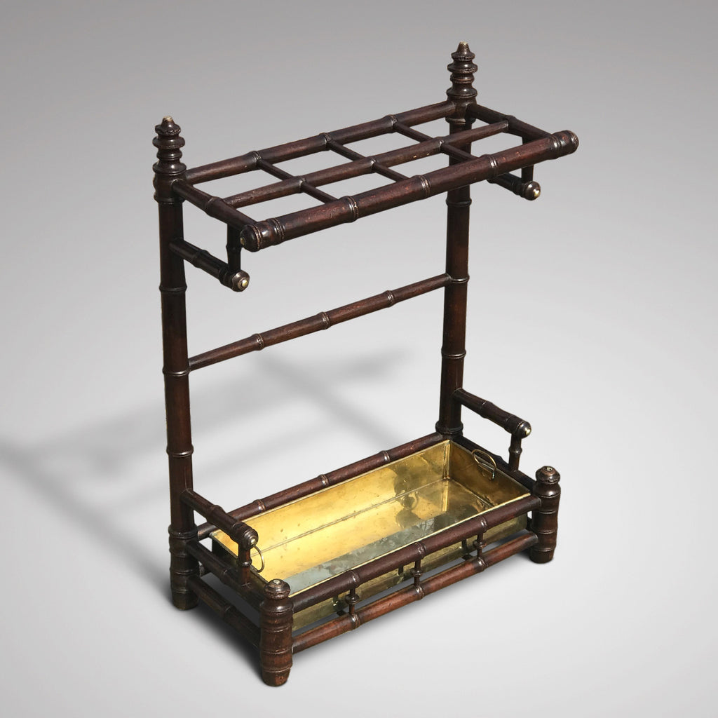 Edwardian Simulated Bamboo Stick Stand - Main View - 2