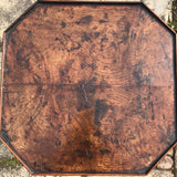 George II Octagonal Oak & Fruitwood Pillar Table - Top View - 2