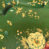 Victorian Green Papier Mache Tray - Detail View - 4