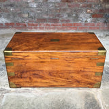 19th Century Camphor Wood Campaign Trunk - Back View - 2