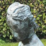 20th Century Bronze Sculpture of Amazone - Head Detail View - 5