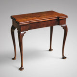 George II Mahogany Tea Table - Main View - 2