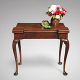 George II Mahogany Tea Table - Main View - 1