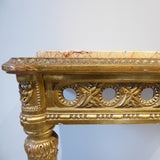 Pair of  Antique Giltwood Tables  Detail View- 3