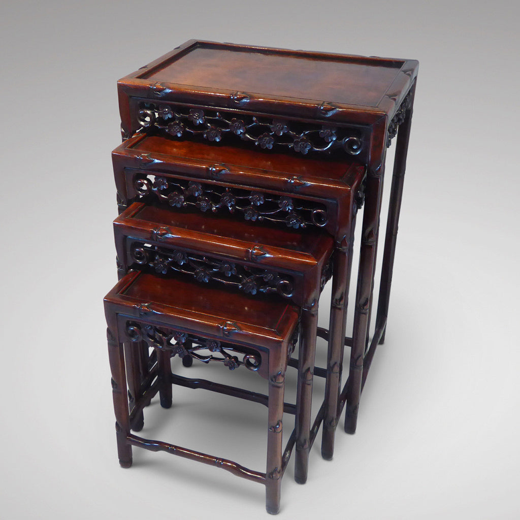 Quartetto of Chinese Tables - Hobson May Collection - 1