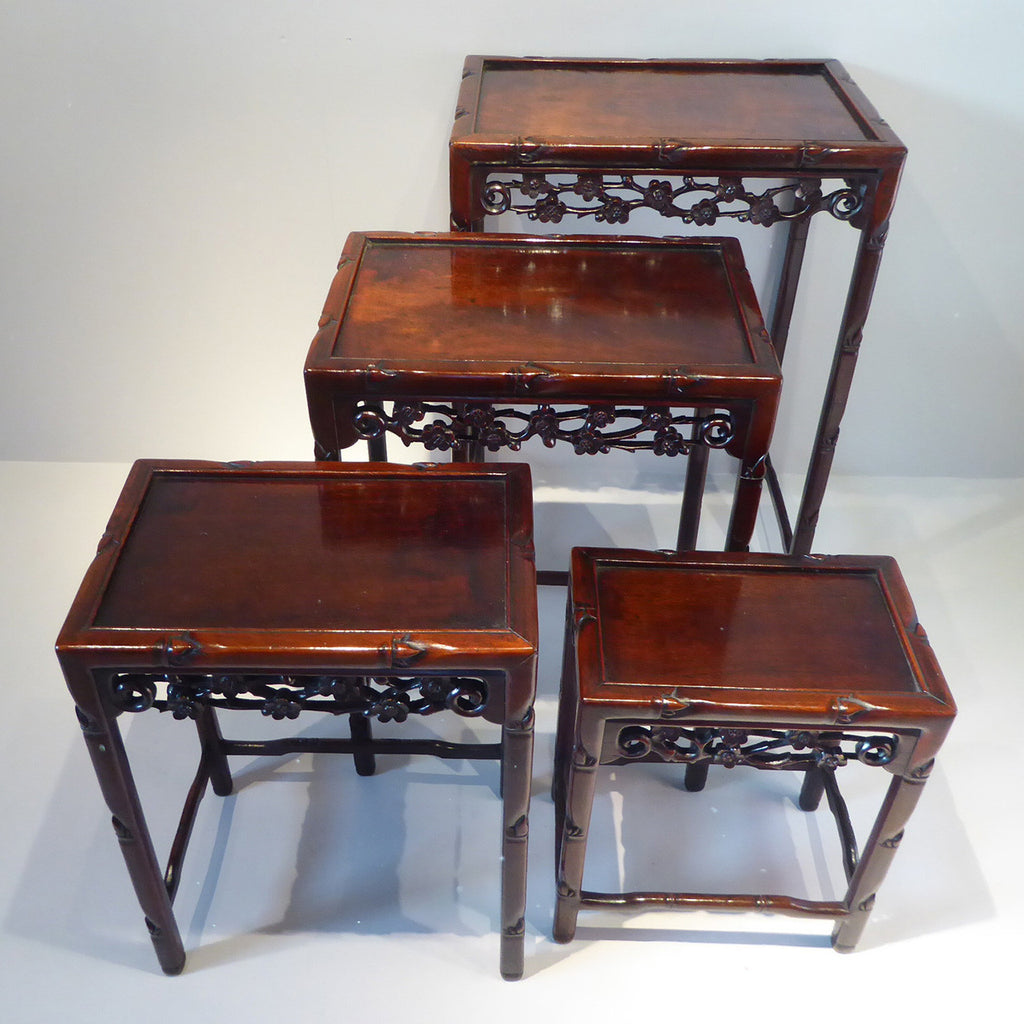 Quartetto of Chinese Tables - Hobson May Collection - 2