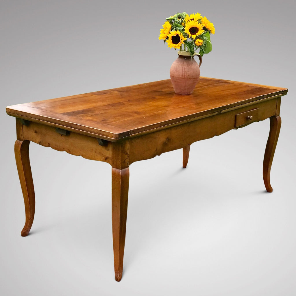 19th Century Fruitwood Extending Dining Table - Detail View - 4