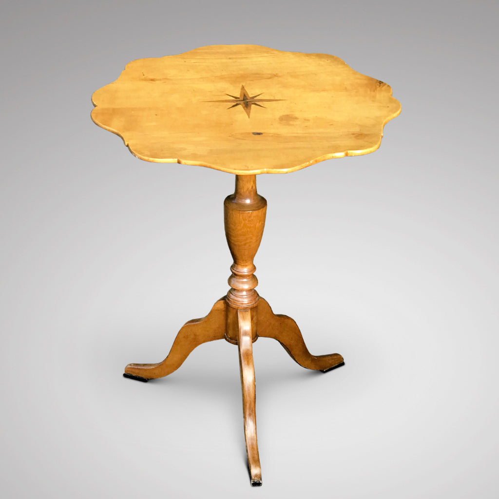 19th Century Swedish Tilt Top Table - Main View - 1