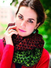 Example of a project made with Malabrigo Rios yarn.