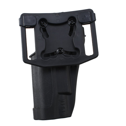 AGPtek® Tactical Holster Right Hand Gun Paddle with Belt Holster for Colt 1911