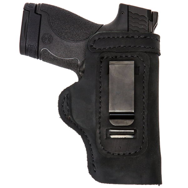 Glock 42 Pro Carry LT CCW IWB Leather Gun Holster