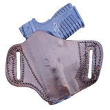 OUTBAGS LOB2P XDS33 Brown Genuine Leather