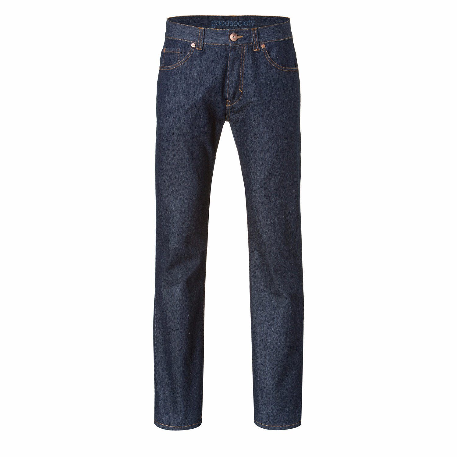 Mens Classic Jeans Raw One Wash