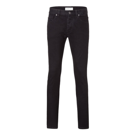 Mens Slim Jeans - Black One Wash