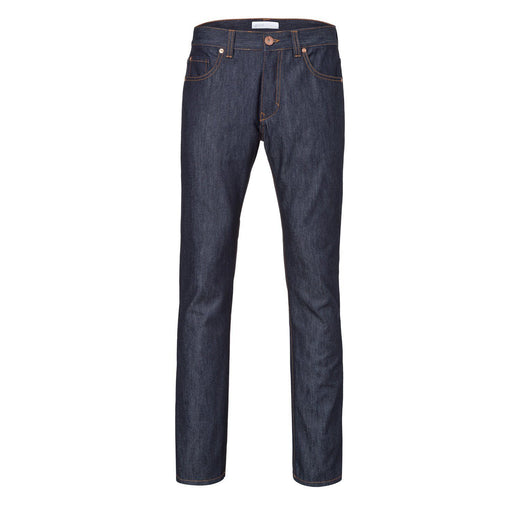 Mens Slim Straight Jeans - Raw