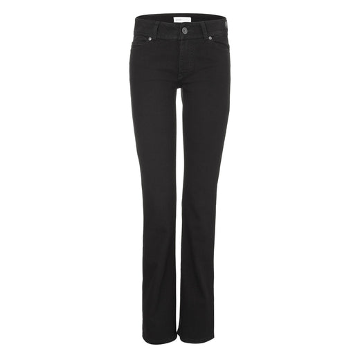 Womens Bootcut Jeans - Black One Wash