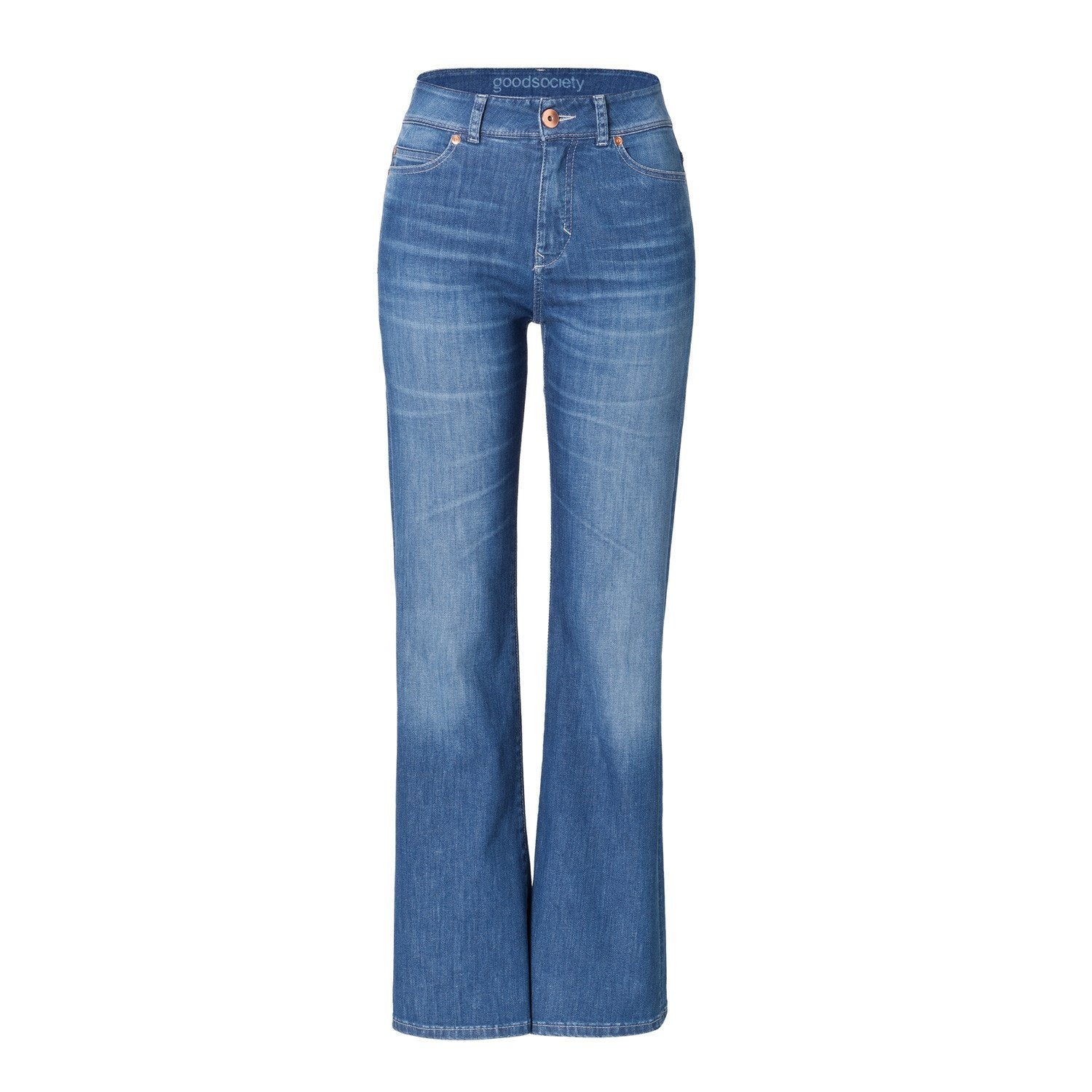 9af5bdcd5c1c Jeans - Womens High Rise Flared Jeans - Harrow