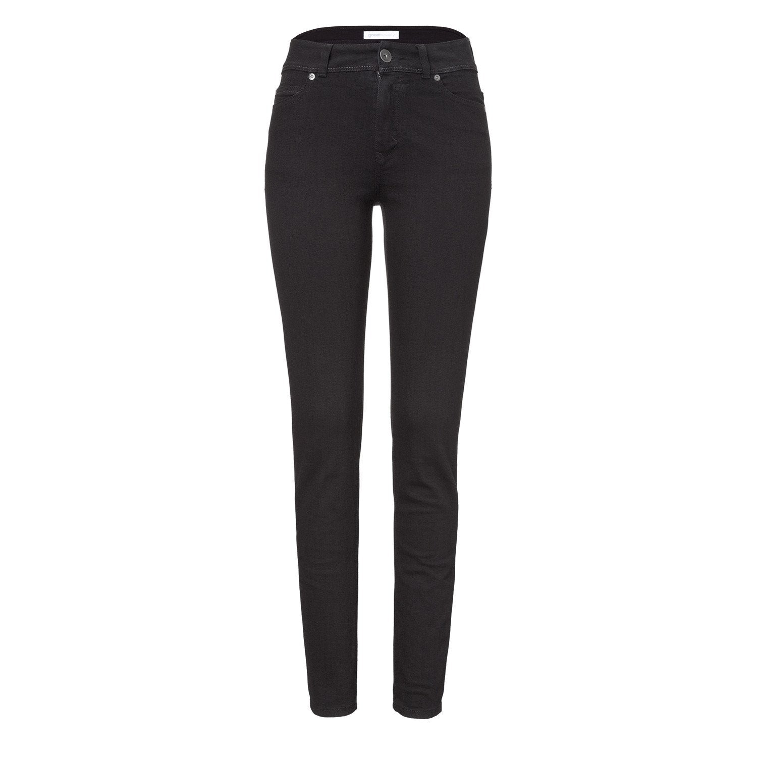d925347536d7 Jeans - Womens High Rise Slim Jeans - Black One Wash