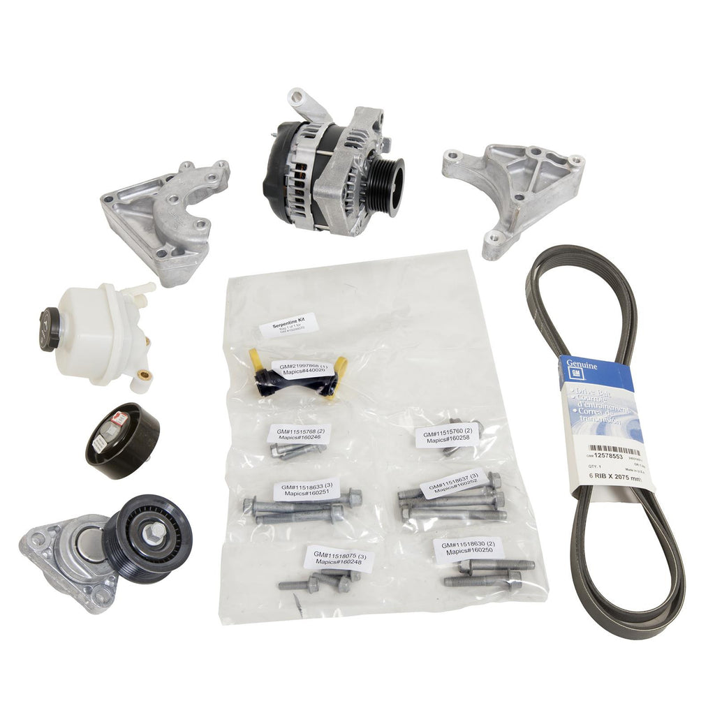 OEM GM CTS-V Accessory Drive Kit - NO AC